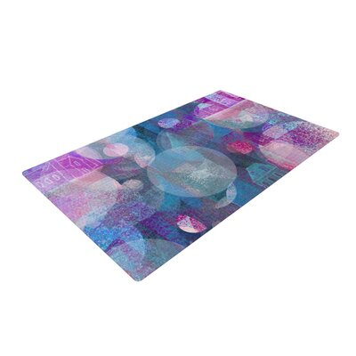 Marianna Tankelevich Dream Houses Blue/Purple Area Rug Rug Size: 4 x 6