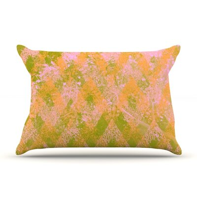 Fuzzy Feeling by Marianna Tankelevich Featherweight Pillow Sham Size: Queen, Fabric: Woven Polyester