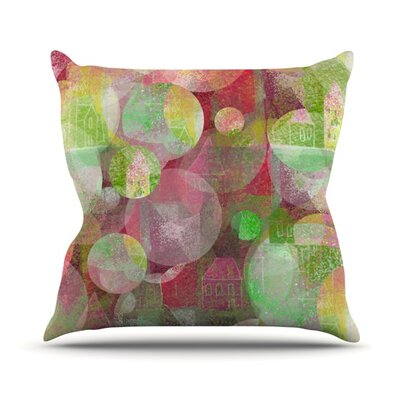 Dream Place Throw Pillow Size: 16 H x 16 W