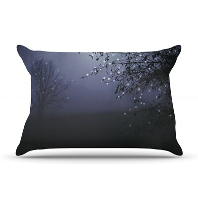 Song of the Nightbird by Monika Strigel Featherweight Pillow Sham Size: King, Fabric: Woven Polyester