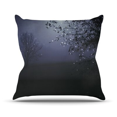 Song of The Nightbird Throw Pillow Size: 20 H x 20 W