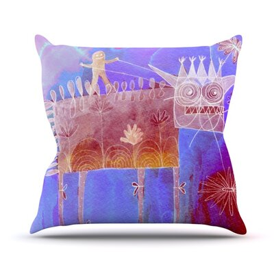 Scary Song about Love Throw Pillow Size: 16 H x 16 W