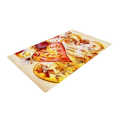 Tree of Love Novelty Rug Rug Size: 2 x 3