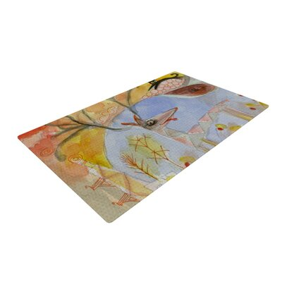 Marianna Tankelevich Promise of Magic Yellow/Gray Area Rug Rug Size: 4 x 6