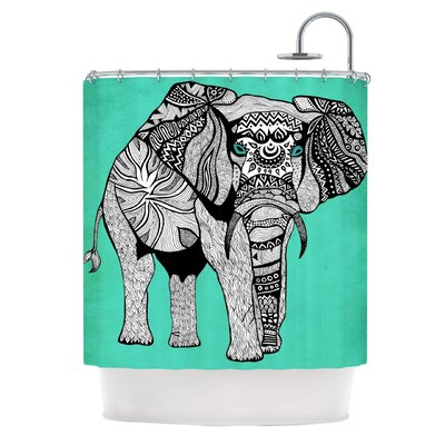 Shower Curtain Color: Elephant of Namibia Color