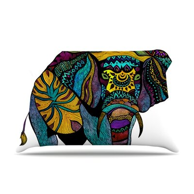 Pom Graphic Design Elephant of Namibia Featherweight Sham Size: King, Fabric: Woven Polyester