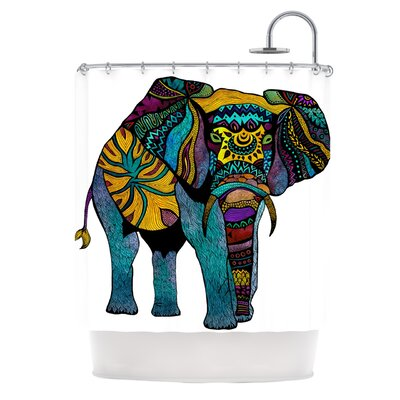 Shower Curtain Color: Elephant of Namibia