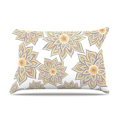 Pillow Case Size: Standard, Color: Floral Dance