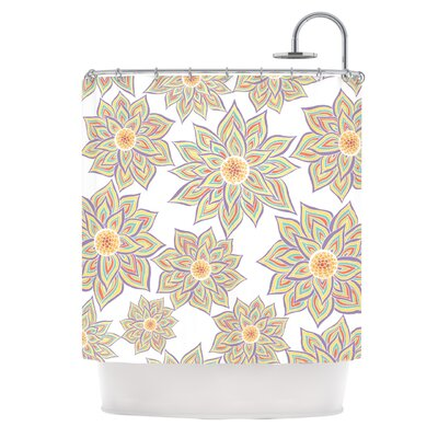 Shower Curtain Color: Floral Dance