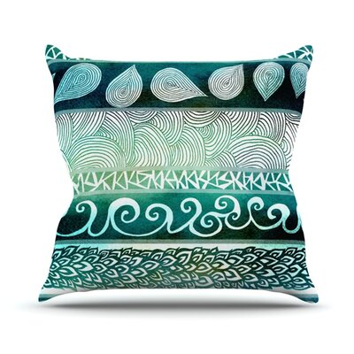 Dreamy Tribal Throw Pillow Size: 18 H x 18 W