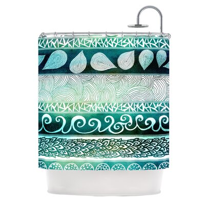 Dreamy Tribal Shower Curtain