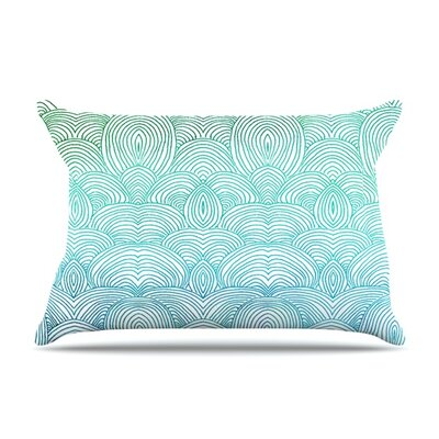 Clouds in the Sky by Pom Graphic Design Featherweight Pillow Sham Size: King, Fabric: Woven Polyester