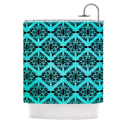 Eye Symmetry Pattern Shower Curtain