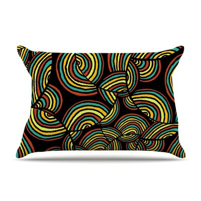 Infinite Depth by Pom Graphic Design Featherweight Pillow Sham Size: Queen, Fabric: Woven Polyester