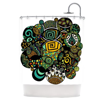 Multicolor Life Shower Curtain