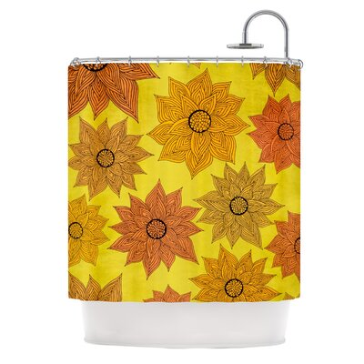 Its Raining Flowers Shower Curtain