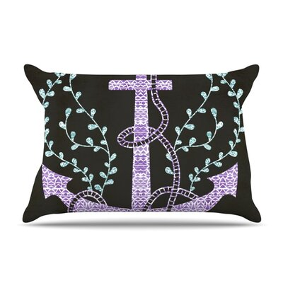 Tribal Nautica I by Pom Graphic Design Featherweight Pillow Sham Size: Queen, Fabric: Woven Polyester