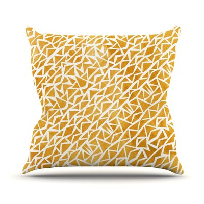 Tribal Origin Throw Pillow Size: 18 H x 18 W