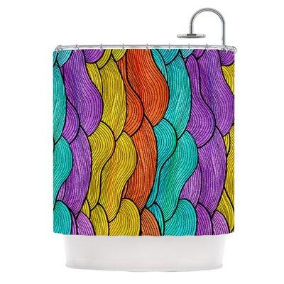 Textiles 2 Shower Curtain