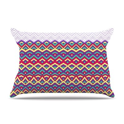 Horizons II by Pom Graphic Design Featherweight Pillow Sham Size: King, Fabric: Woven Polyester
