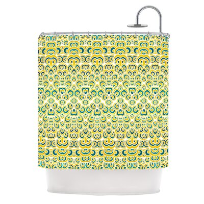 Shower Curtain Color: Animal Temple