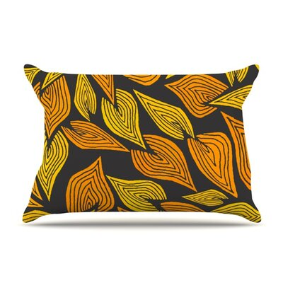 Autumn II by Pom Graphic Design Featherweight Pillow Sham Size: King, Fabric: Woven Polyester