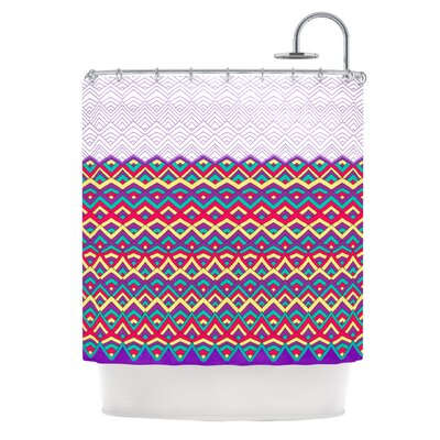 Shower Curtain Color: Purple