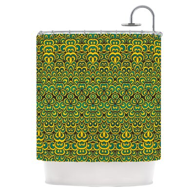 Shower Curtain Color: Animal Temple II