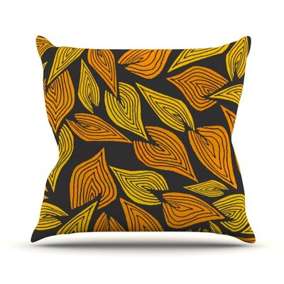 Throw Pillow Size: 18 H x 18 W, Color: Autumn II