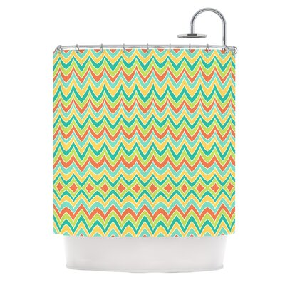 Bright and Bold Shower Curtain