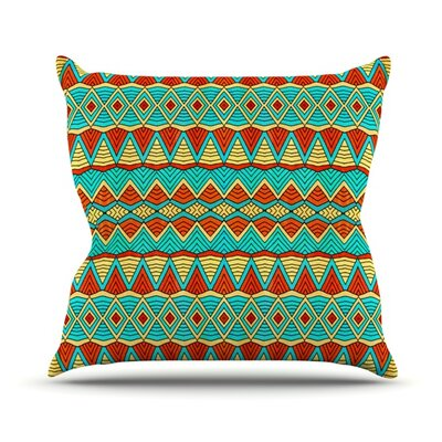 Throw Pillow Size: 16 H x 16 W, Color: Tribal Soul