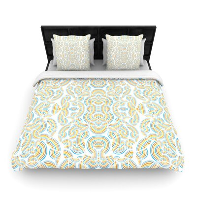 Infinite Thoughts Woven Comforter Duvet Cover Size: King