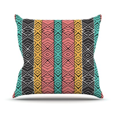 Artisian by Pom Graphic Throw Pillow Size: 26 H x 26 W x 5 D