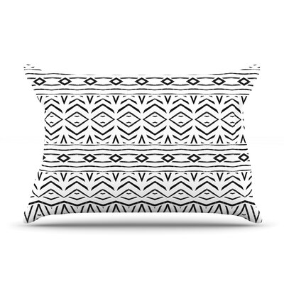 Tambourine by Pom Graphic Design Featherweight Pillow Sham Size: Queen, Fabric: Woven Polyester