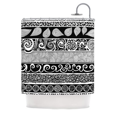 Tribal Evolution Shower Curtain