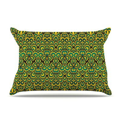 Animal Temple II by Pom Graphic Design Featherweight Pillow Sham Size: Queen, Fabric: Woven Polyester