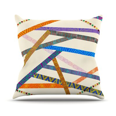 Unparalleled Throw Pillow Size: 16 H x 16 W