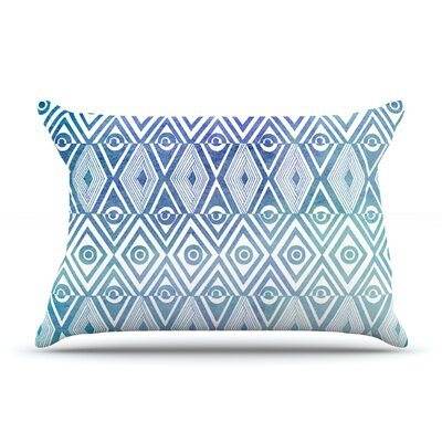 Pom Graphic Design Tribal Mosaic Featherweight Sham Size: Standard, Fabric: Cotton