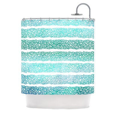 Shower Curtain Color: Leafs From Paradise II