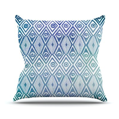Tribal Empire Outdoor Throw Pillow Size: 26 H x 26 W x 4 D