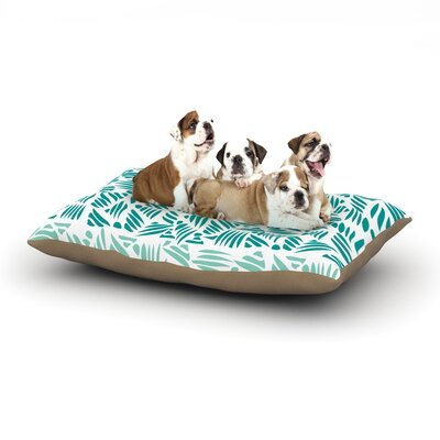 Pom Graphic Design Bamboo Dog Pillow with Fleece Cozy Top Size: Large (50 W x 40 D x 8 H)