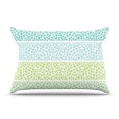 Zen Pebbles by Pom Graphic Design Featherweight Pillow Sham Size: Queen, Fabric: Woven Polyester