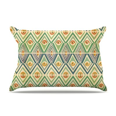 Celebration by Pom Graphic Design Featherweight Pillow Sham Size: Queen, Fabric: Woven Polyester