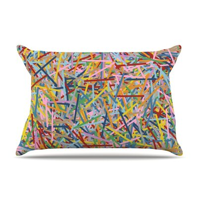 More Sprinkles by Project M Featherweight Pillow Sham Size: King, Fabric: Woven Polyester