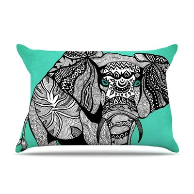 Pom Graphic Design Elephant of Namibia Color Featherweight Sham Size: Queen, Fabric: Woven Polyester