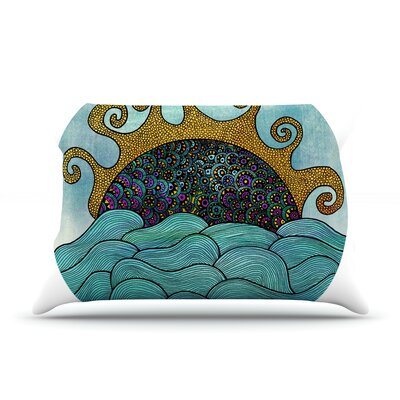 Oceania by Pom Graphic Design Featherweight Pillow Sham Size: Queen, Fabric: Woven Polyester