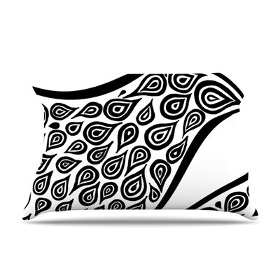 Bird in Disguise by Pom Graphic Design Pillow Sham Size: Queen, Fabric: Woven Polyester