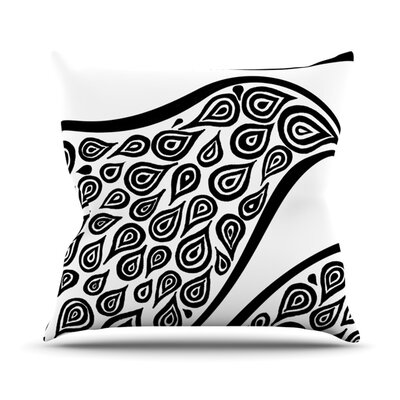 Bird In Disguise Throw Pillow Size: 20 H x 20 W