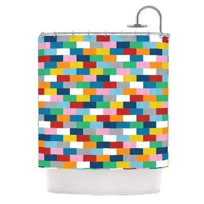Bricks Shower Curtain