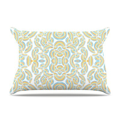 Infinite Thoughts by Pom Graphic Design Featherweight Pillow Sham Size: King, Fabric: Woven Polyester